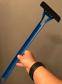 BaKblade 1.0--Blue--Back Hair Razor and Body Shaver for Men