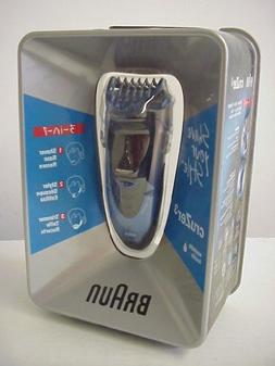 3-in-1 Braun Cruzer3 Electric Shaver, TYPE No. 5 733