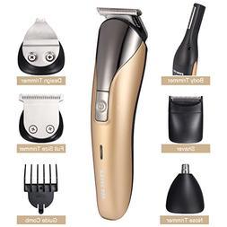 11 in 1 Men Electric Shaver, LuckyFine, Electric Razor Men,