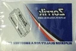 10 Zorrik Super Platinum razor blades