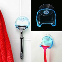 1Pc Plastic Sucked Suction Cup Razor Shaver Holder Hanger Ra
