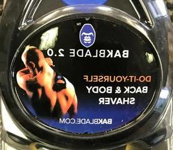BAKblade 2.0  DIY Back Shaver for Men No More Hairy Backs!