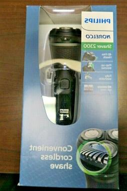 Philips Norelco 2300 Convenient Cordless Shaver S1211/81 New