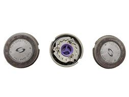 3 Pcs Replacement Shaver Head Shaver Blade for Philips Norel