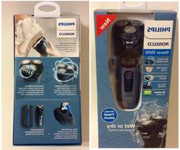 3500 series wet dry electric shaver storm