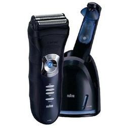 Braun Series 3-350cc Shaver System, Dark Blue