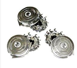 3pcs Replacement Head Cutters Fit Philips Norelco HQ9 Speed