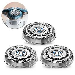 3 Pcs Replacement Shaver Heads for Replacing Philips Norelco