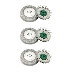 3pcs Replacement Shaver Heads for Norelco Philips HQ6073 731