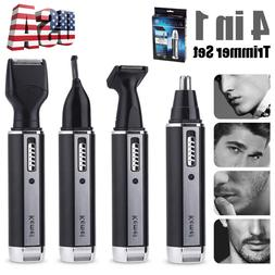 4 In 1 Hair Beard Eyebrow Ear Nose Shaver Trimmer Kits Profe