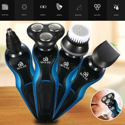 4 In1 Electric Razor Shaver Men Waterproof Cordless Recharge