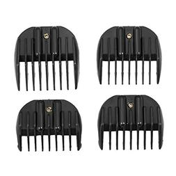 Walmeck 4 Sizes Limit Comb Hair Clipper Guide Attachment for