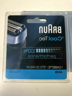 Braun 40B cooltec Cassette Foil Cutter Shaver 100% Authentic