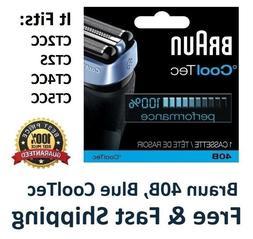 Braun 40B Foil Cutter Shaver Head CoolTec Series cassette CT
