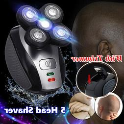 5 Head Electric Shaver Waterproof Rechargeable 4D Floating B