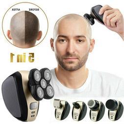 5 Head Razor Bald Beard Hair Skull Trimmer Eagle Remover Cli
