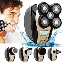 5 In 1 Men's 4D Rotary Electric Shaver Multifunction Beard T