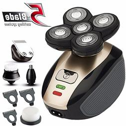 5 in1 grooming kit wet/dry Shaver Electric Razor For Men All