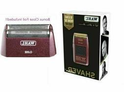 Wahl 5 Star Shaver/Shaper 8061 Bonus Foil Included!