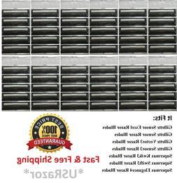 60 Cartridges Fit Gillette Sensor 3 Excel Razor Shaver blade