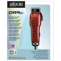 Andis 66220 US Pro Adjustable Blade Hair Clipper, 220 Volts
