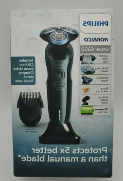Philips Norelco 6900 Wet/Dry Electric Shaver S6810/82 - Savi