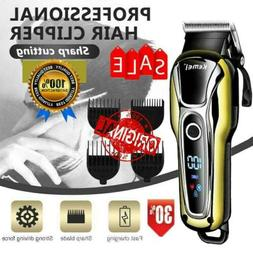 Men's Beard Trimmer & Hair Clipper Barber Shaver Styling Kit