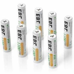 EBL 8 Pack AAA Ni-MH Rechargeable Batteries ProCyco Technolo