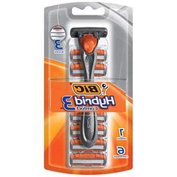 BIC Hybrid Advance for Men, Shaver System, 6 ea - 2pc