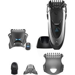 Braun Cordless WASHABLE Mens Hair Trimmer and Multi Groomer