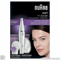 Braun FaceSpa Premium Edition SE830 Face Epilator with Facia
