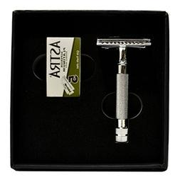 CS-202 Classic Samurai Short Handle Double Edge Safety Razor