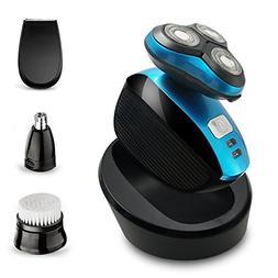 Electric Shaver Razor for Men Perzcare IPX7 Waterproof 4 in