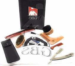 GBS Premium Beard Shaving Grooming Set - Beard Catcher Bib C