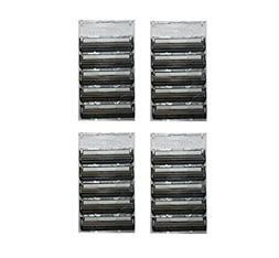 Gillette Atra Plus Refill Razor Blade Cartridges, Bulk Packa