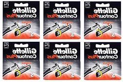 Gillette Contour Plus  Refill Blade Cartridges, 5 Count  + F