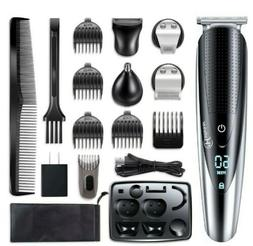 Hatteker Mens Beard Trimmer Kit Body Mustache Trimmer Hair T