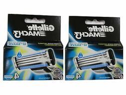 Mach3 Refill Cartridge Blades for Mach 3, 8 Count