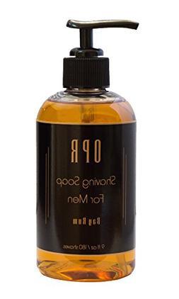 OPR Bay Rum Shaving Soap, Shave Cream & Oil Based Soap: Redu
