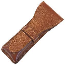 Parker Safety Razor, Genuine Leather Double Edge Safety Razo