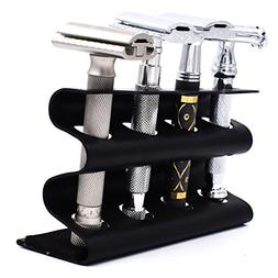 Parker's Double Edge Safety Razor Stand - Holds Four Razors