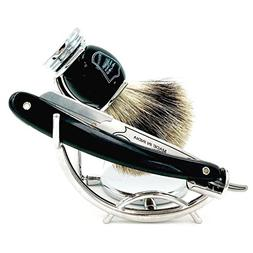 Parker's SRB Replaceable Blade Straight Edge Barber Razor Sh
