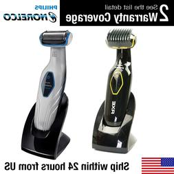 Philips Norelco - 3100 Wet/dry Bodygroom - Black/blue