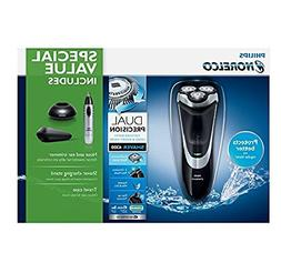 Philips Norelco Wet & Dry Shaver 4300 with Nose, Ear and Eyb