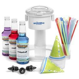 S700 Snow Cone Machine, 25 Snow Cone Cups, 25 Spoon Straws,