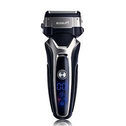 SURKER Shaver Professional Men's Electric Razor Foil Shaver