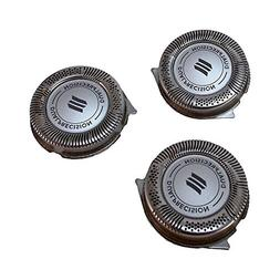 Set of 3 New Phillips Norelco HQ8 SH50/52 Replacement Electr