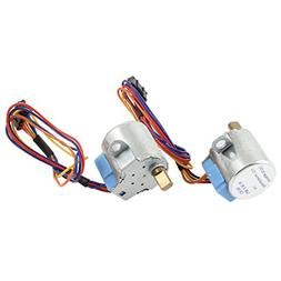 Uxcell High Torque Reducing Wired Electric Stepper Motor, DC