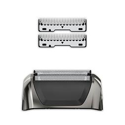 Wahl Black Chrome Smart Shave Replacement Foils, Cutters and
