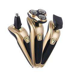 Yezijin Electric Shaver Rotary Shaver Wet and Dry 3 in 1 Wit